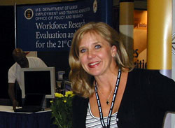 Denise At Booth